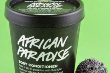 African Paradise von Lush … ein Body Conditioner