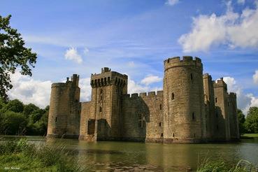 Bodiam Castle – von Geistern bewohnte Filmlocation