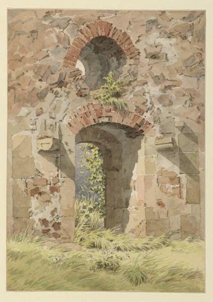 Klosterruine Heilig Kreuz Meißen Caspar David Friedrich