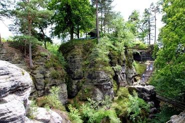 Da war einmal eine Burg… Felsenburg Neurathen