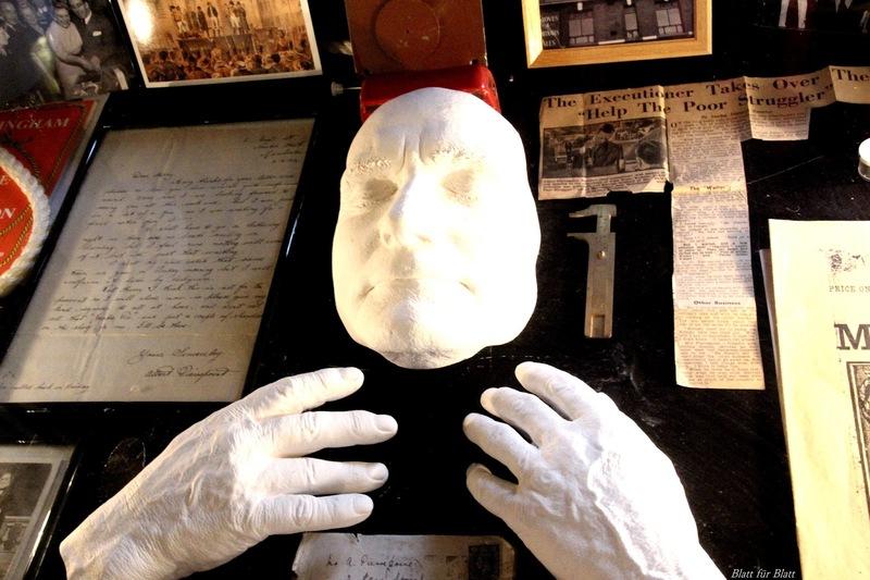 Kriminalmuseum in Lemgo, Museum Lemgo, Albert Pierrepoint, Robert C. Marley