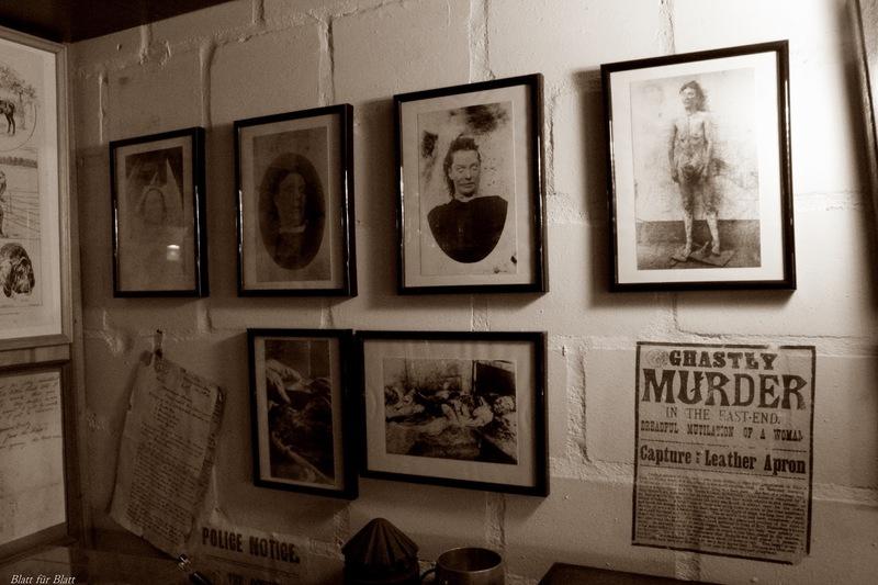 Robert C. Marley, Englisches Kriminalmuseum