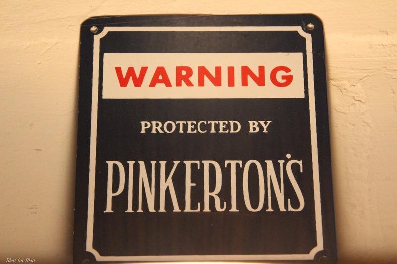 Pinkerton's Detektei, Kriminalmuseum Lemgo, Museum Lemgo, Robert C. Marley