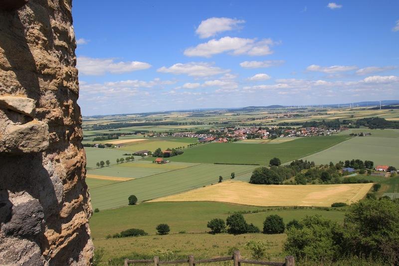 Desenburg Burgruine Warburg