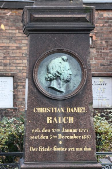 grab-christian-daniel-rauch-alter-friedhof-berlin