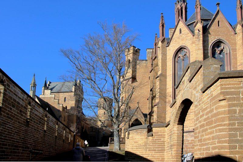 Burg Hohenzollern, Historismus, Neogotik