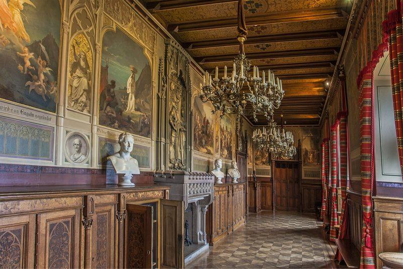 Bibliothek der Burg Hohenzollern