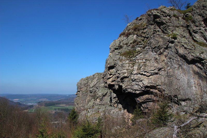 Wandern an den Bruchhauser Steinen im Sauerland