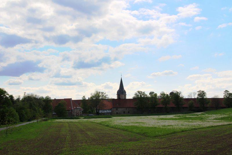 Harzer Klosterwanderweg, Übernachtung, Kloster