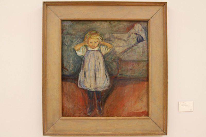 Übermaltes Gemälde von Edvard Munch, Unbekannter Munch gefunden