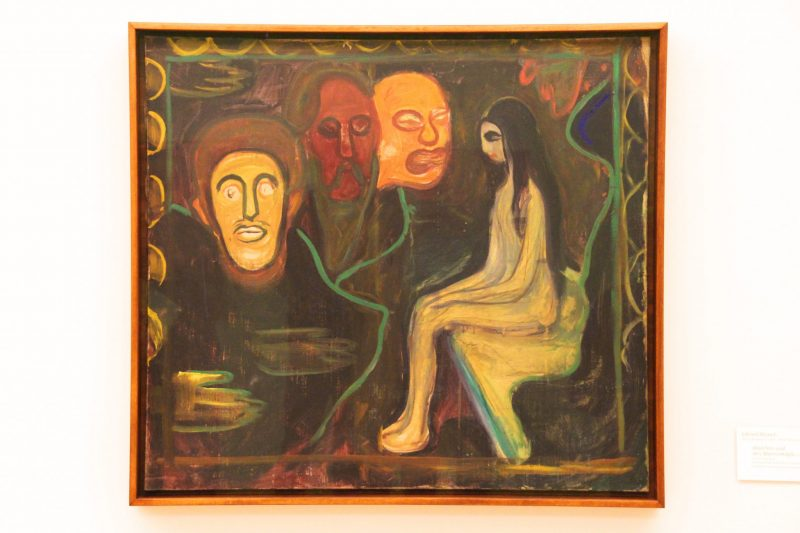 Verstecktes Gemälde von Munch, Unbekanntes Gemälde von Munch