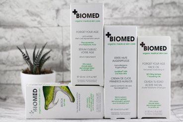 Biokosmetik von BIOMED Organic Mededical Skin Care Review + Gewinnspiel