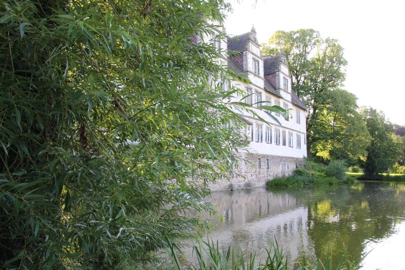 Schloss Wendlinghausen, Wasserschloss, Ostwestfalen Lippe, Weserrenaissance