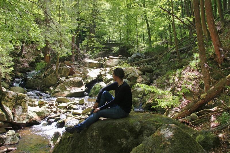 Wandern auf den Brocken, Wandern im Harz, Heinrich Heine Wanderweg, Ilsenburg