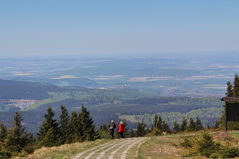 Wandern im Harz, Heinrich-Heine-Wanderweg, Ilsenburg, Wandern auf den Brocken