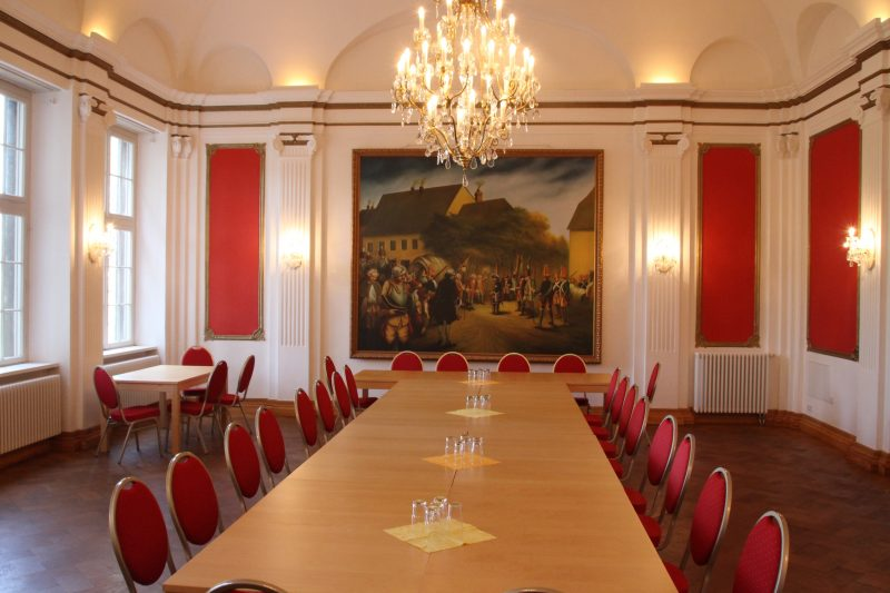 Schloss Burgwerben, Friedrich der Große, Schlacht bei Rossbach