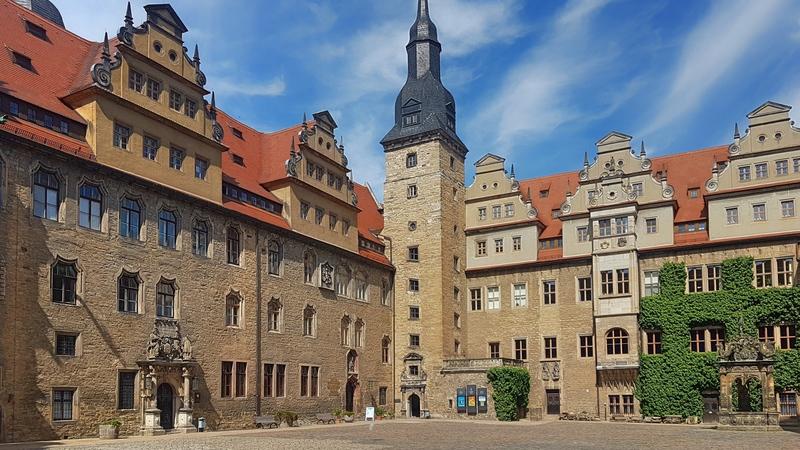 Schlösser in Saale Unstrut, Schloss Merseburg, Sehenswert in Saale-Unstrut
