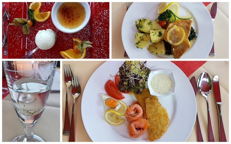 Restaurant Hotel Werbetal, Restaurant am Edersee, Edersee-Fisch, Dinner mit Seeblick
