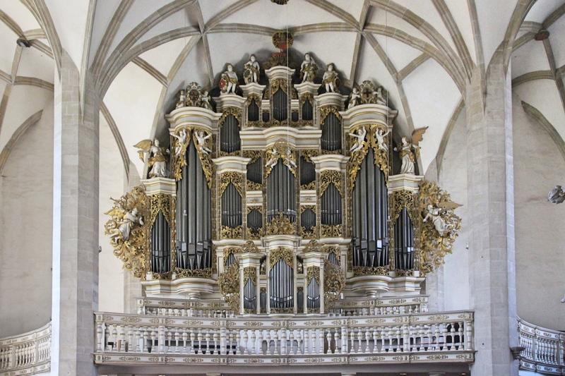 Friedrich Ladegast, Merseburg, Orgel, Dom von Merseburg, Sehenswürdigkeiten Saale-Unstrut