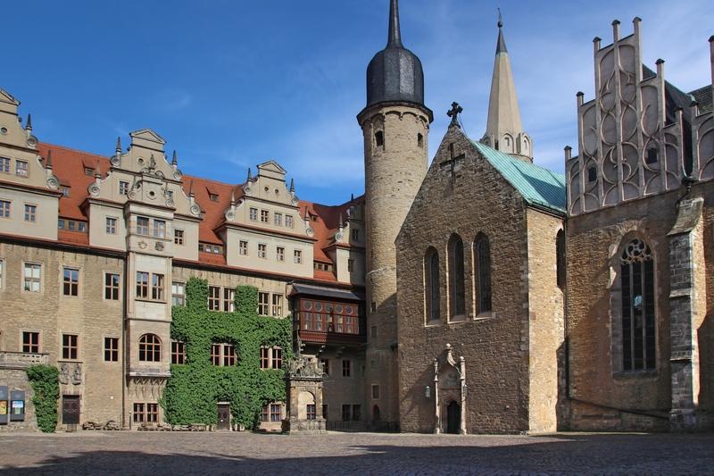 Merseburger Dom, Schloss Merseburg, Sehenswürdigkeiten Saale-Unstrut