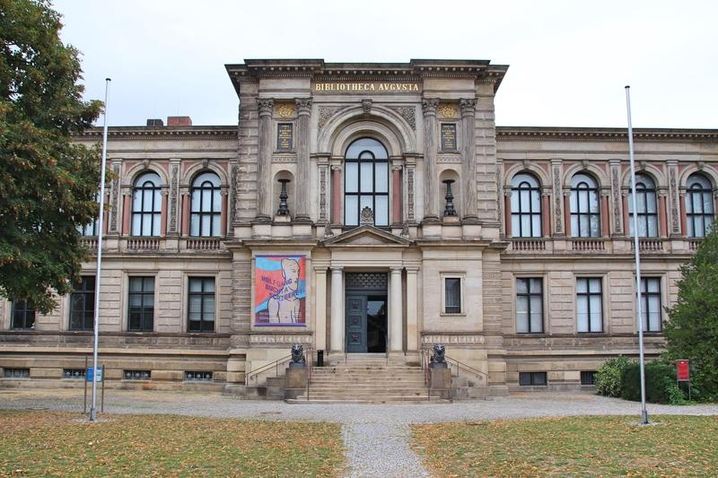 Schönste Bibliothek in Norddeutschland, HAB Wolfenbüttel, Lessingstadt