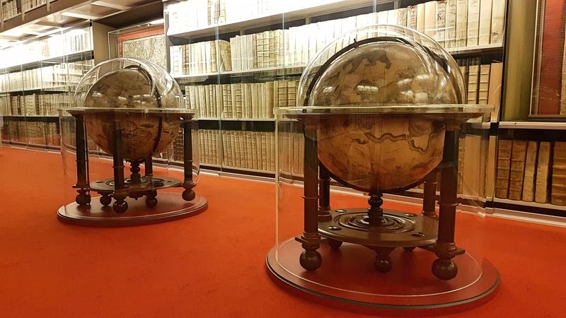 Bibliothek Wolfenbüttel, Inkunabeln, schönste Bibliothek in Deutschland,