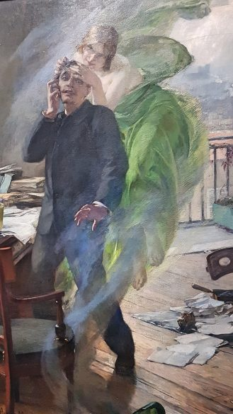 Kunstmuseum Stuttgart, Albert Maignan, die Grüne Fee, Absinth, Extase