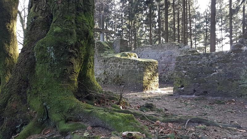 Kirchenruine Ostwestfalen, Ruine im Teutoburger Wald