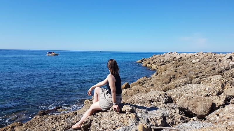 Blaues Meer in der Türkei, Strandurlaub Türkei