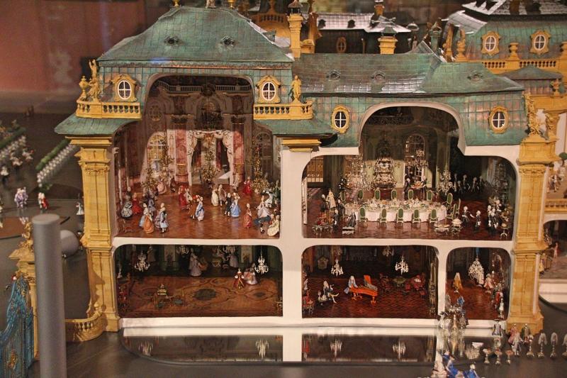 Rococo en miniature, Barockschloss, Heidecksburg, Rollenspiele