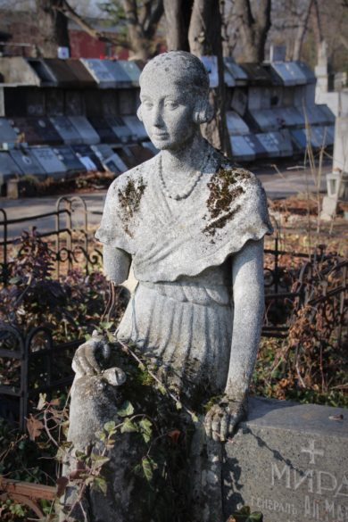 alter Friedhof in Sofia, Dark Sofia, Gothic Sofia