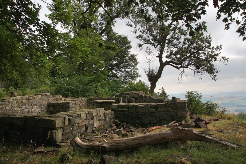 Kultstätte, Südthüringen, Ruine in Thüringen, Wandern in Thüringen