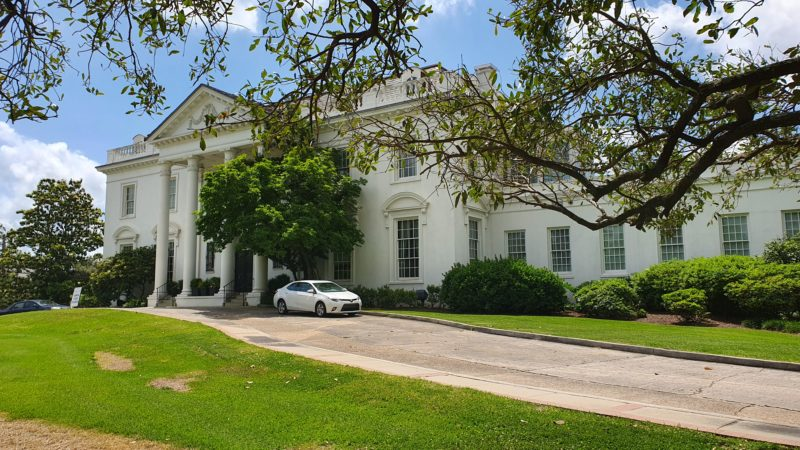 Weißes Haus in Baton Rouge, Sehenswerte Orte in Louisiana