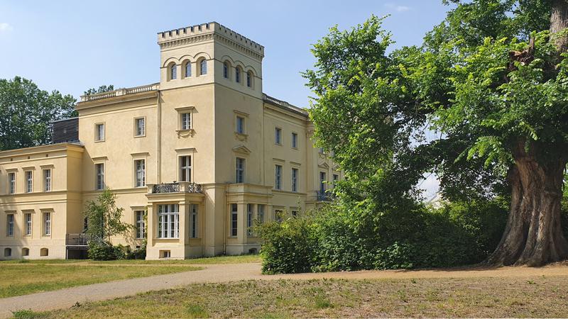 Schlösser Brandenburg, Schlösser Oder-Spree, Picknick im Schlosspark