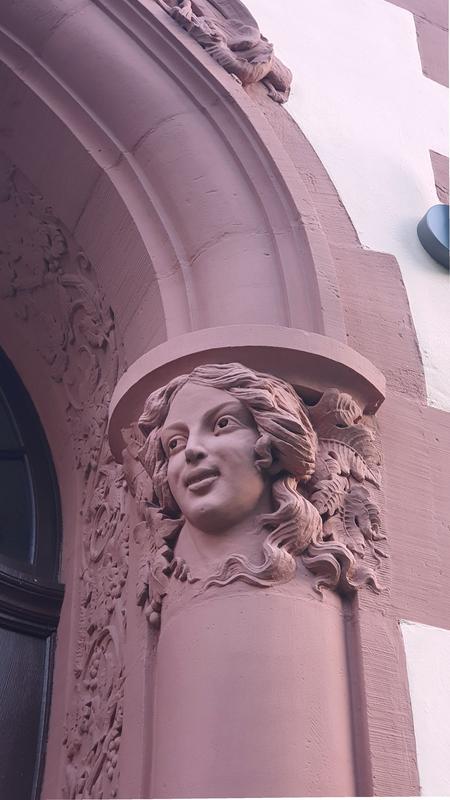 Jugendstil-Ornamentik in Traben-Trarbach