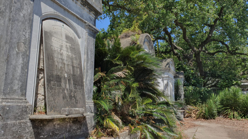 verfallener Friedhof in New Orleans, alte Mausoleen New Orleans