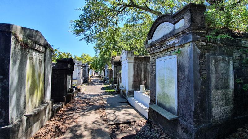 Lafayette Friedhof New Orleans, Friedhof aus Interview mit einem Vampir, Friedhof von Lestat