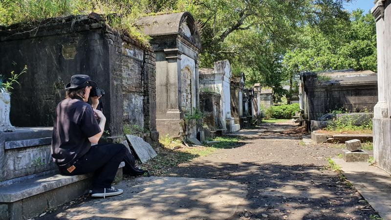 Alter Friedhof, verfallene Gräber, New Orleans