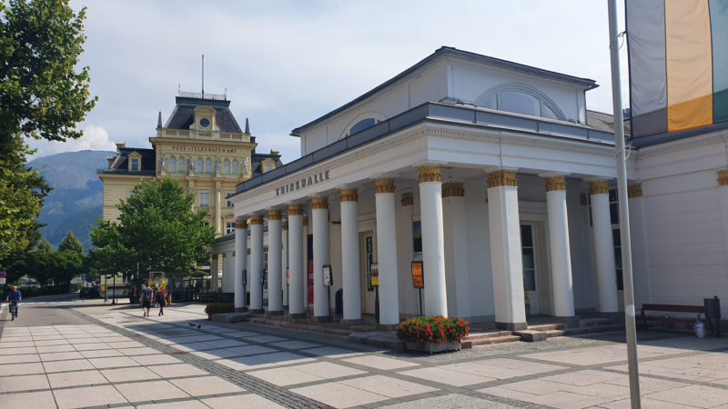 Trinkhalle Bad Ischl, Tourist Info Bad Ischl