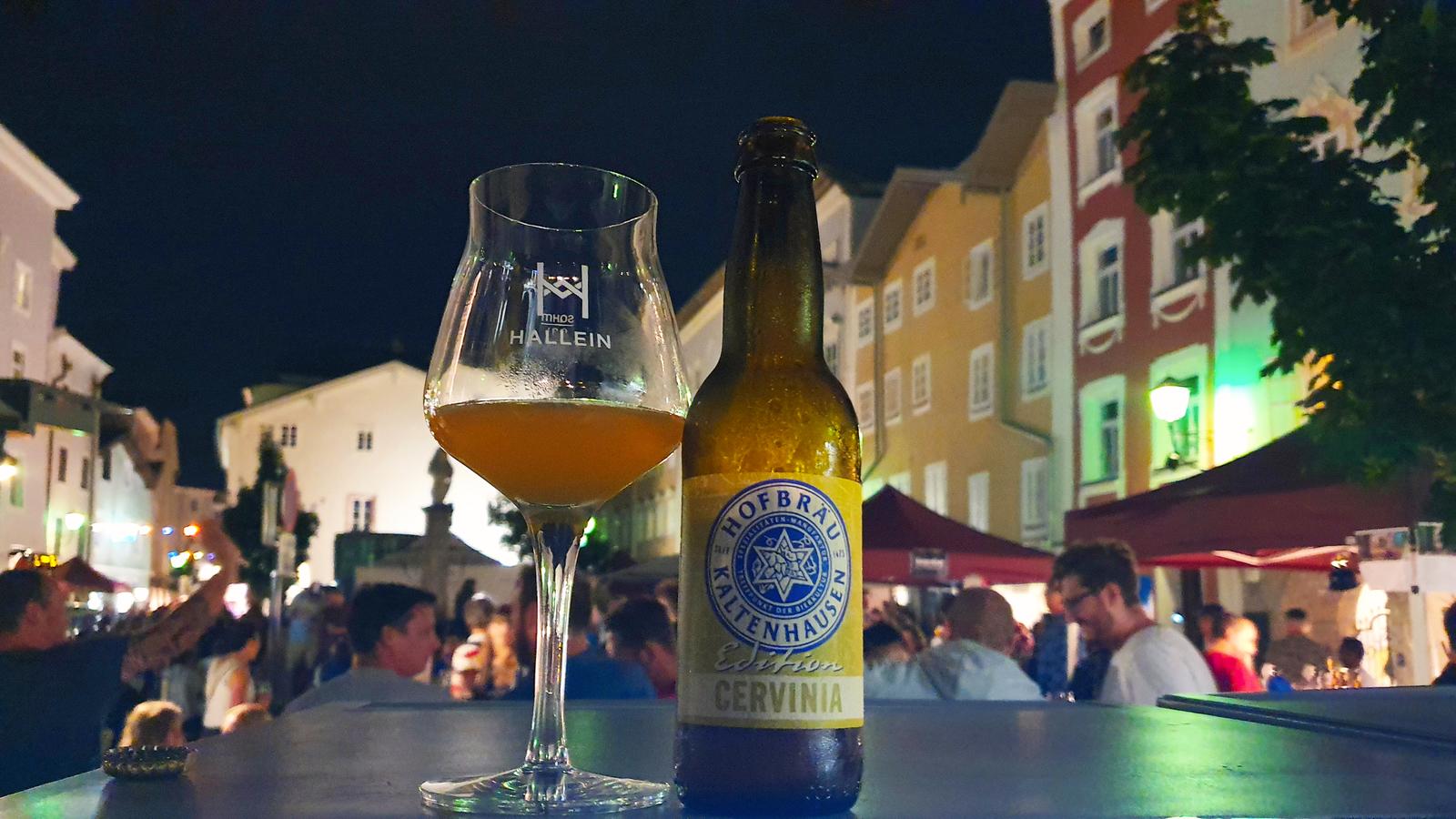 Bierfest Hallein, Bier aus Hallein