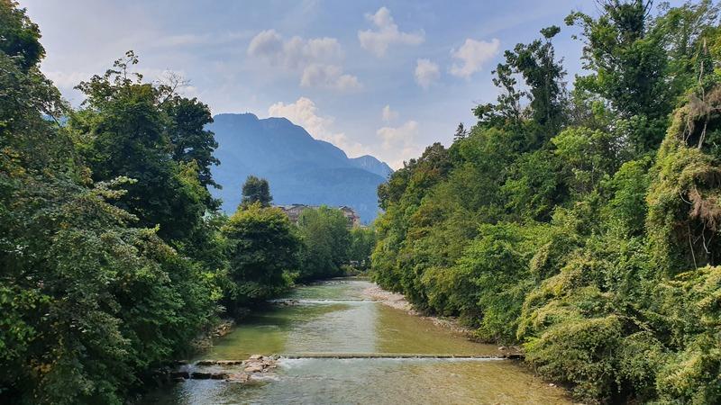 Fluss Ischl, Kaiservilla Bad Ischl