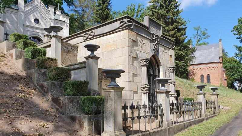 alter Friedhof Schwerin, Sehenswürdigkeiten Schwerin