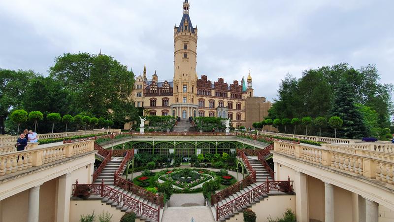 Barockgarten, Schweriner Schloss, Schloss Schwerin, Tipps für Schwerin
