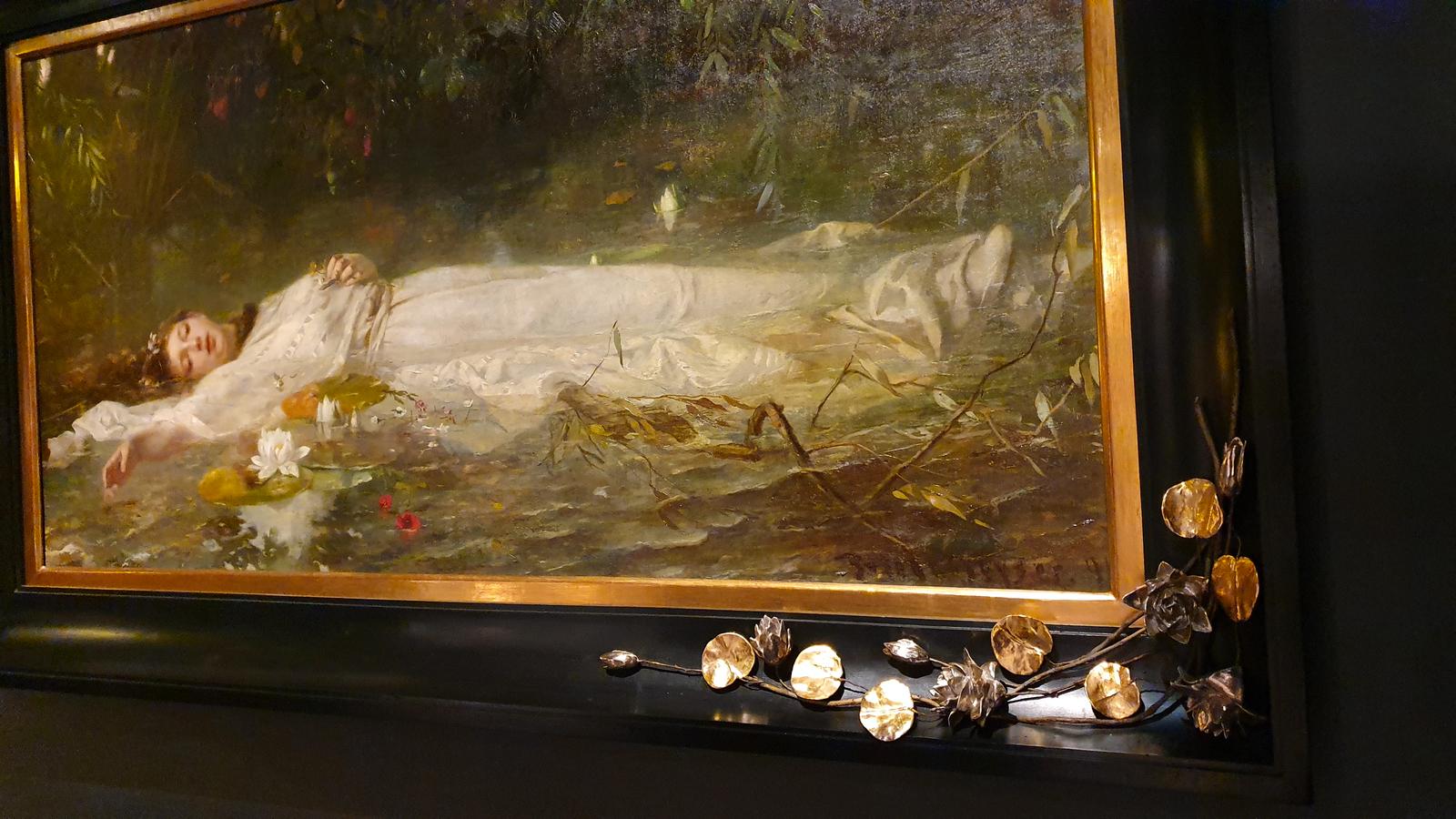Symbolismus, Hamlet, Shakespeare-Gemälde