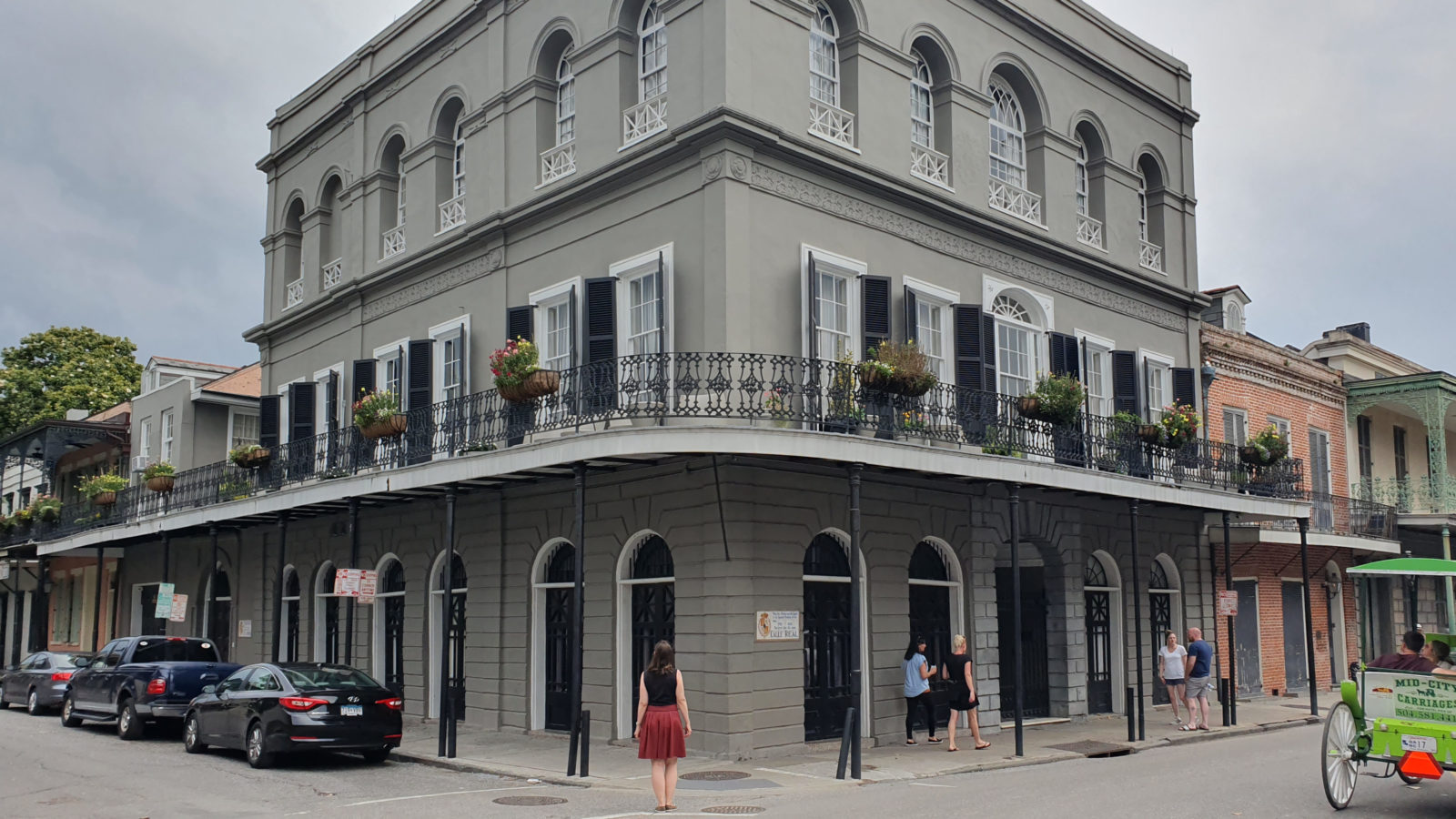 Sightseeing in New Orleans, Tipps für New Orleans, Sehenswürdigkeiten von New Orleans, Haus von Delfine LaLaurie