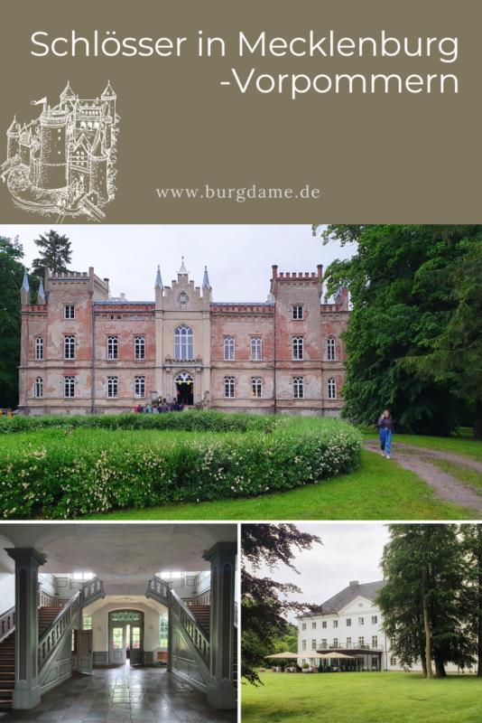 Schlösser in Mecklenburg-Vorpommern, Schlosshotels in Mecklenburg-Vorpommern, Schlossblogger
