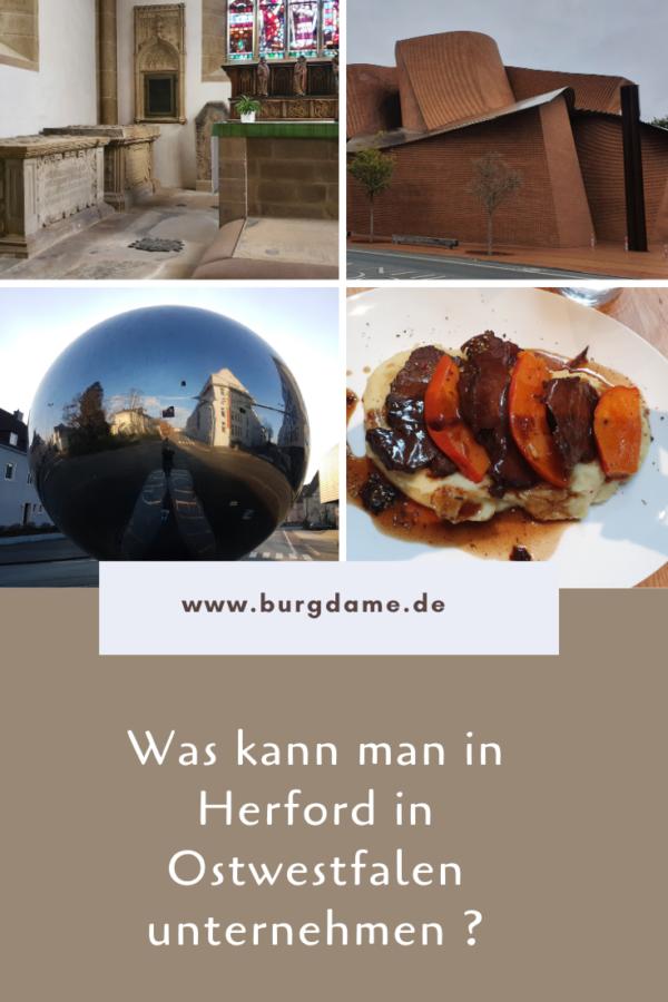 Sehenswürdigkeiten von Herford, Tipps für Herford, Ostwestfalen, Teutoburger Wald