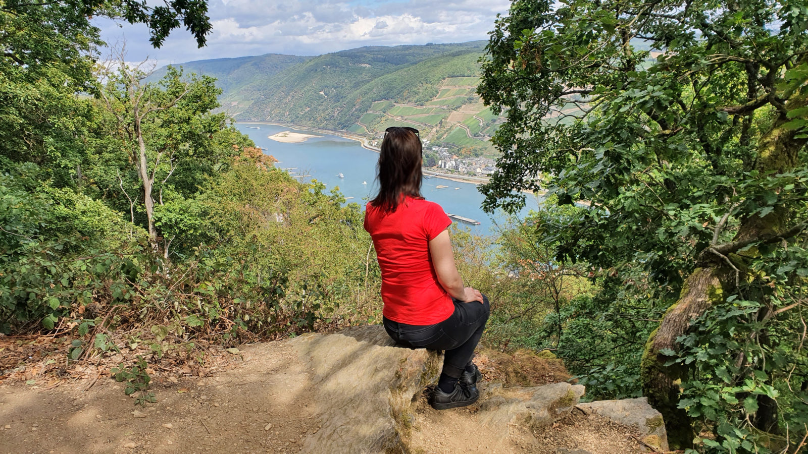 Burgen-Wanderung ab Bingen, Rundwanderweg ab Bingen, Wandern auf dem Rhein-Burgen-Weg, Wandern am Mittelrhein, Burgen-Wanderung ab Bingen