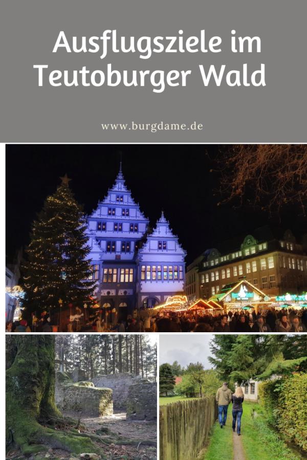 Sehenswürdigkeiten im Teutoburger Wald, Ausflugstipps im Teutoburger Wald,