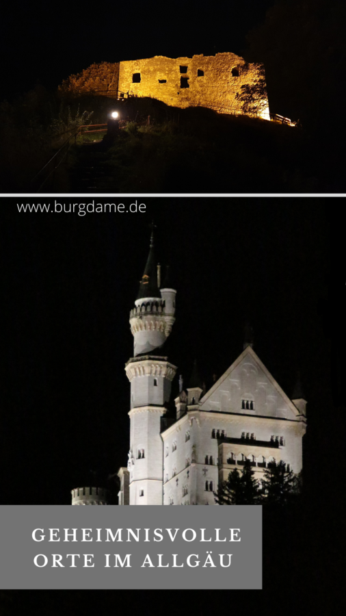 Mystische Orte im Allgäu, Geheimnisvolle Orte im Allgäu, Spukorte